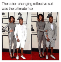 Memes, 🤖, and Ram: The color-changing reflective suit  was the ultimate flex  AWARDS  AWARDS  GRAM  RDS  RAM  RDS  AWARDS  Y AWARDS 😂😍👏 @will_ent - - - - - - - - - - text post textpost textposts relatable comedy humour funny kyliejenner kardashians hiphop follow4follow f4f kanyewest like4like l4l tumblr tumblrtextpost imweak lmao justinbieber relateable lol hoeposts memesdaily oktweet funnymemes hiphop bieber trump