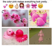 RuneScape, Pinkly, and  Color Pink: the color pink makes everything look pretty