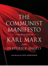 THE  COMMUNIST  MANIFESTO  A Modern Edition  KARL MARX  AND  FREDERICK ENGELS  Introduction by ERIC HOBSB AWM Eric Hobsbawm's Introduction to the 2012 Edition of Marx & Engels 'The Communist Manifesto' - http://amzn.to/1wY5cCK  I  In the spring of 1847 Karl Marx and Frederick Engels agreed to join the so-called League of the Just [Bund der Gerechten], an offshoot of the earlier League of the Outlaws [Bund der Geächteten], a revolutionary secret society formed in Paris in the 1830s under French Revolutionary influence by German journeymen – mostly tailors and woodworkers – and still mainly composed of such expatriate artisan radicals. The League, convinced by their 'critical communism', offered to publish a Manifesto drafted by Marx and Engels as its policy document, and also to modernize its organization along their lines. Indeed, it was so reorganized in the summer of 1847, renamed League of the Communists [Bund der Kommunisten], and committed to the object of 'the overthrow of the bourgeoisie, the rule of the proletariat, the ending of the old society which rests on class contradiction [Klassengegensätzen] and the establishment of a new society without classes or private property'. A second congress of the League, also held in London in November–December 1847, formally accepted the objects and new statutes, and invited Marx and Engels to draft the new Manifesto expounding the League's aims and policies.  Although both Marx and Engels prepared drafts, and the document clearly represents the joint views of both, the final text was almost certainly written by Marx – after a stiff reminder by the Executive, for Marx, then as later, found it hard to complete his texts except under the pressure of a firm deadline. The virtual absence of early drafts might suggest that it was written rapidly.[i] The resulting document of twenty-three pages, entitled Manifesto of the Communist Party (more generally known since 1872 as The Communist Manifesto), was 'published in February 1