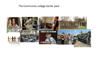 The community college starter pack: The Community college starter pack  I WROTE THE TEXTBOOK  IT COSTS $180, THANKS  Oleg The community college starter pack