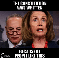 Memes, True, and Constitution: THE CONSTITUTION  WAS WRITTEN  BECAUSE OF  TURNING  POINT USA SO TRUE! #BigGovSucks