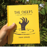 Amazon, Memes, and Barnes & Noble: THE CREEPS  A DEEP DARK FEAPS COLLECTION  FRAN KRAUSE Look what just arrived in the mail! It's a test-print of my new book! I'm really happy how it's turned out and I can't wait to share it with everybody! You can pre-order it now via your local bookstore, or most online retailers like Amazon, IndieBound, Barnes & Noble, iBooks, BookDepository, and others. I set up a page with info and links at deepdarkfears.com-book - thanks! comics deepdarkfears book