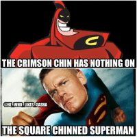"I laughed at the ""square chinned superman"" line by Alexa more than I should've 😂. Anyways who remembers the crimson chin ? wwe wwememe wwememes alexabliss beckylynch themiz nikkibella maryse mickiejames hustleloyaltyrespect youcantseeme wrestlemania johncena wrestler wrestling prowrestling professionalwrestling worldwrestlingentertainment wweuniverse wwenetwork wwesuperstars raw wweraw smackdown smackdownlive nxt wwesmackdown sdlive: THE CRIMSON CHIN HAS NOTHING ON  @HEIWHOTLIKESTSASHA  THE SQUARECHINNED SUPERMAN I laughed at the ""square chinned superman"" line by Alexa more than I should've 😂. Anyways who remembers the crimson chin ? wwe wwememe wwememes alexabliss beckylynch themiz nikkibella maryse mickiejames hustleloyaltyrespect youcantseeme wrestlemania johncena wrestler wrestling prowrestling professionalwrestling worldwrestlingentertainment wweuniverse wwenetwork wwesuperstars raw wweraw smackdown smackdownlive nxt wwesmackdown sdlive"