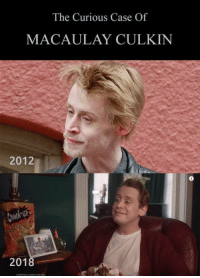 If he keeps it up like this, in 10 more years hes going to be able to do a sequel to Home Alone 2 as a kid again: The Curious Case Of  MACAULAY CULKIN  2012  201 If he keeps it up like this, in 10 more years hes going to be able to do a sequel to Home Alone 2 as a kid again