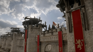 """"""" The curious case of the scorpions """" Spoilers of S08E05 below ! Why were these placed just on the Eurons fleet and on the border wall ? Dragons can fly very high how can you stop the dragon if it flew above the clouds and directly attacked the red keep ?: """" The curious case of the scorpions """" Spoilers of S08E05 below ! Why were these placed just on the Eurons fleet and on the border wall ? Dragons can fly very high how can you stop the dragon if it flew above the clouds and directly attacked the red keep ?"""