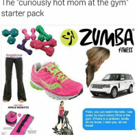 Alright cougar, I see you!😂! Tag some friends 👇🏻 lmao starterpacks lol haha Photo Cred: @douggiehouse: The curiously hot mom at the gym  starter pack  fITNESS  douggiehouse  GALLANT  ANKLE WEIGHTS  Peter, you can watch the kids. I am  under so much stress I'll be in the  gym. If there is a problem, kindly  let me know, I dare you, let me  knowl Alright cougar, I see you!😂! Tag some friends 👇🏻 lmao starterpacks lol haha Photo Cred: @douggiehouse