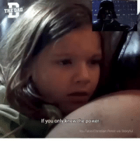 Perez: THE DAD  If you only knew the power  rouTube/Christian Perez via Storyful