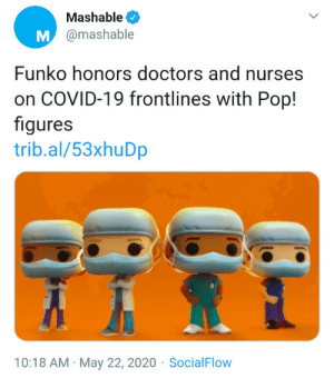 "the-daddypaddy:  disease-danger-darkness-silence:   emptyheadgamer:  pregnantseinfeld: hell world      *sigh* Look, I'm as anti-profiteering as the next anarcho-communist, OK? But can you actually look up what's fucking going on, y'all? Funko is donating all proceeds from these figurines, which, ""includes medical professionals across different races and ethnicities, representing the impact of the pandemic across all spectrums,"" to the GlobalGiving Coronavirus Relief fund, to help support frontline workers. GlobalGiving has a fantastic rating on Charity Navigator and is generally speaking a trustworthy organization. Funko is not making any actual profit off of these figurines.  I hate capitalism. But for once, a company is actually putting their money where their mouth is. So like….can we not?     Hey guys, reblog this please!  Make sure not to spread misinformation around!  : the-daddypaddy:  disease-danger-darkness-silence:   emptyheadgamer:  pregnantseinfeld: hell world      *sigh* Look, I'm as anti-profiteering as the next anarcho-communist, OK? But can you actually look up what's fucking going on, y'all? Funko is donating all proceeds from these figurines, which, ""includes medical professionals across different races and ethnicities, representing the impact of the pandemic across all spectrums,"" to the GlobalGiving Coronavirus Relief fund, to help support frontline workers. GlobalGiving has a fantastic rating on Charity Navigator and is generally speaking a trustworthy organization. Funko is not making any actual profit off of these figurines.  I hate capitalism. But for once, a company is actually putting their money where their mouth is. So like….can we not?     Hey guys, reblog this please!  Make sure not to spread misinformation around!"