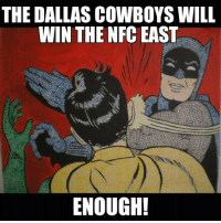 Dallas Cowboys, Nfl, and The Division: THE DALLAS COWBOYS WILL  WIN THE NFC EAST  ENOUGH! The Cowboys are going to win the Division this season...