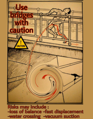 The danger of bridges is often underestimated: The danger of bridges is often underestimated