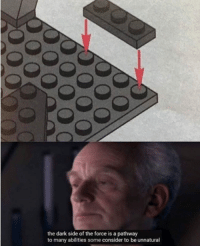 Power, Dark, and Force: the dark side of the force is a pathway  to many abilities some consider to be unnatural Is it possible to learn this power?