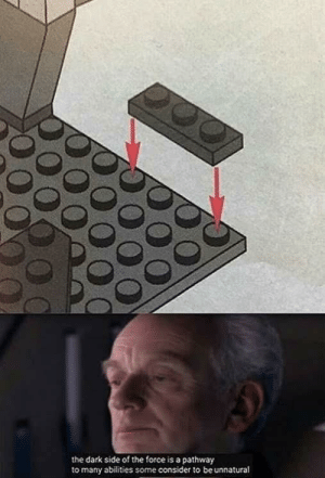 The building technique of gods by Subbwae MORE MEMES: the dark side of the force is a pathway  to many abilities some consider to be unnatural The building technique of gods by Subbwae MORE MEMES