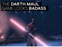 Memes, Badass, and 🤖: THE DARTH MAUL  GAME LOOKS BADASS The one Star Wars game we really wanted...