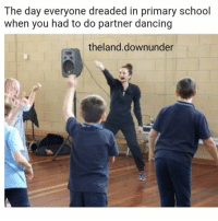 Dancing, Memes, and School: The day everyone dreaded in primary school  when you had to do partner dancing  theland.downunder I feel this on a real level