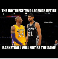 DoubleTap if you agree!! - Tag kobe and duncan fans Follow my ghetto parody page @OnlyintheHood 💰 @OnlyintheHood 🔫 And @GymFailss 💪 @GymFailss 😂 for hilarious gym fails vids-pics lol: THE DAY THESE TWO LEGENDSRETIRE  @Sports Jokes  MRS  LAKERS  24 Lei  BASKETBALL WILL NOT BE THE SAME DoubleTap if you agree!! - Tag kobe and duncan fans Follow my ghetto parody page @OnlyintheHood 💰 @OnlyintheHood 🔫 And @GymFailss 💪 @GymFailss 😂 for hilarious gym fails vids-pics lol