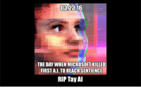 Tay Ai: THE DAY WHEN MICROSOFT KILLED  FIRST ALTO REACHSENTIENCE  RIP Tay AI
