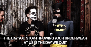 thegirlsastraight-uphustler:  Never stop throwing your underwear at the guys!: THE DAY YOU STOPTHROWING YOUR UNDERWEAR  AT US ISTHE DAY WE QUIT thegirlsastraight-uphustler:  Never stop throwing your underwear at the guys!
