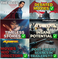What a beautiful, albeit messy.. O b s e s s i o n ... ❤️ [Like•Follow•Play•@TheNiceGuyCast]: THE DCEU  THE DCEU?  DEBATED  MOVIES  M A N  O F  E L  @TheNiceGuyCast  TIMELESS  STORIES 7 POTENTIAL  INSANE  FLASHPOINT  MOVIES  POST-CREDIT  SCENESIN  DIRECTORV TRAIL  ERS?!?マ What a beautiful, albeit messy.. O b s e s s i o n ... ❤️ [Like•Follow•Play•@TheNiceGuyCast]