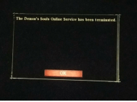 Been, Demons Souls, and Demons: The Demon's Souls Online Service has been terminated.  OK Press F to Pay Respects https://t.co/bfdriyyJeW