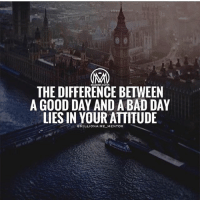 A bad attitude is like a flat tire. If you don't change it, you'll never go anywhere.💯 - attitude success millionairementor: THE DIFFERENCE BETWEEN  A GOOD DAY AND A BAD DAY  LIES IN YOUR ATTITUDE  OMILLIONAIRE_ MENTOR A bad attitude is like a flat tire. If you don't change it, you'll never go anywhere.💯 - attitude success millionairementor