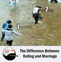 difference between marriage and dating