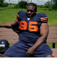 Nfl, Via, and Different: THE DIFFERENT TYPE OF BENCHWARMERS  95 RT @WhistleSports: Different types of benchwarmers 😂😂  via: @spiceadams #SpicyTakes https://t.co/sRjyoEMkRv