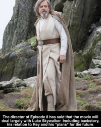 """⚫️ What are your theories on Rey and the upcoming movie?⚫️ - nerd earth nerdy starwars me like cool sweet geek follow tbt instagood selfie nicd luke cosplay: The director of Episode 8 has said that the movie will  deal largely with Luke his relation to and his """"plans"""" for the future. ⚫️ What are your theories on Rey and the upcoming movie?⚫️ - nerd earth nerdy starwars me like cool sweet geek follow tbt instagood selfie nicd luke cosplay"""