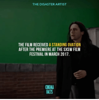 I'm so fucking excited for this movie. I hope they have the flower shop scene in it. Your thoughts? - thedisasterartist theroom tommywiseau jamesfranco zacefron sethrogan theroom filmset setlife filmcrew filmisnotdead camera cameraporn filmcamera filmmakers movies moviemaking movie movies film tv camera cinema fact moviefacts director actor actress acting hollywood: THE DISASTER ARTIST  THE FILM RECEIVED A STANDING OVATION  AFTER THE PREMIERE AT THE SXSW FILM  FESTIVAL IN MARCH 2017  CINEMA  FACTS I'm so fucking excited for this movie. I hope they have the flower shop scene in it. Your thoughts? - thedisasterartist theroom tommywiseau jamesfranco zacefron sethrogan theroom filmset setlife filmcrew filmisnotdead camera cameraporn filmcamera filmmakers movies moviemaking movie movies film tv camera cinema fact moviefacts director actor actress acting hollywood
