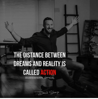 Homeless, Memes, and School: THE DISTANCE BETWEEN  DREAMS AND REALITY IS  CALLED ACTION  @DAVIDSHARPE OFFICIAL Here is a JAW-DROPPING story of MULTI MILLION MARKETER @davidsharpe_official that LITERALLY started from less than 0. I hope many of my followers will find inspiration and the right way to succeed online by following a person that made it, FOR REAL and had this background: ⬇️⬇️⬇️ - Dropped out of High-school in 9th grade. - Fathered a child at 16. - Developed a drug addiction. - Was homeless. - Almost died from a serious disease. ⬇️⬇️⬇️ …and was anyhow able to generate over 170 millions in sales, 8-figures a year in profits and is still growing! 🔝 . He showed me and thousands of people that actually nothing can stop you from achieving. Nothing can stop you from being who you dream. ...Or actually, the only person that can stop you is YOU 🔥 Guys, DOUBLE TAP this if you are inspired and ready to make this 2017 UNFORGETTABLE 💥 . Follow ➡️ @davidsharpe_official ✔️