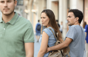 "The *distracted boyfriend"" reversed: The *distracted boyfriend"" reversed"