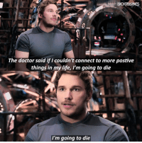 HAPPY BIRTHDAY CHRIS PRATT, BOI U DANG GOOD AT PROTECTING OUR GALAXY AND I LOVE EVERY OUNCE OF YOUR COMEDIC SPACE-SELF, HAVE A FANTASTIC DAY EAT LOTS OF CAKE❤️ @prattprattpratt - - QOTD: When's your birthday? (find ur bday twin): The doctor said if I couldn't connect to more postive  things in my life, I'm going to die  I'm going to die HAPPY BIRTHDAY CHRIS PRATT, BOI U DANG GOOD AT PROTECTING OUR GALAXY AND I LOVE EVERY OUNCE OF YOUR COMEDIC SPACE-SELF, HAVE A FANTASTIC DAY EAT LOTS OF CAKE❤️ @prattprattpratt - - QOTD: When's your birthday? (find ur bday twin)