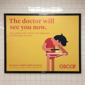 fakepreme: to: dr-oscar@uclahealth.net  subject: what the fuck  attachment: diseased_dick_3.png : The doctor will  see vou now.  Share photos with a doctor. Get diagnosed.  Confidentially, of course  Get smart, simple health insurance  at HiOscar.com or 855 OSCAR-85  oscar  341-011 fakepreme: to: dr-oscar@uclahealth.net  subject: what the fuck  attachment: diseased_dick_3.png