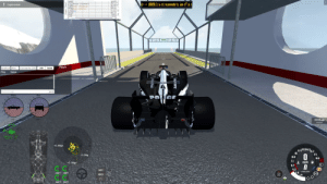 The downforce of a Formula 1 car visualized using BeamNG. Normal cars would go absolutely flying off the ramp, but the Formula 1 car sticks to the ground like a magnet, even at 200+ MPH!: The downforce of a Formula 1 car visualized using BeamNG. Normal cars would go absolutely flying off the ramp, but the Formula 1 car sticks to the ground like a magnet, even at 200+ MPH!