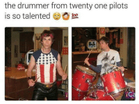 Ghetto, Memes, and Drummers: the drummer from twenty one pilots  is so talented  iC I think sum people dont fucking understand these ——————————————————————————————————————— My other accounts: @themememonk @memedoctor_ ————————————————————— mememonkmememonk mememonk bruh lmao hood meme chill nochill comedy pepe l4l ghetto dank dankmeme dankmemes memes lmfao triggered dank filthyfrank itslit lit realniggahours petty lol funny prank bestmemes bestmeme