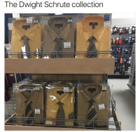 It's called fashion posers: The Dwight Schrute collection It's called fashion posers