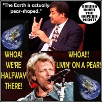 """""""The Earth is actually  pear-shaped.""""  WHOA!  WERE  HALFWAY  THERE!  DOWN  THE  liovEIRIN  MIENT!  WHOA!!!  LIVIN' ON A PEAR! #FLATEARTH - How stupid do you have to be to keep believing satanic scumbags that lie to you constantly?  What do you think?  Do you believe these limp-wristed, lobotomised liars who faked the moon landing, create Photoshopped images of a spherical Earth, then tell you that the Earth is an """"oblate spheroid"""", and then tell you that it's """"pear-shaped"""" while throwing up illuminati hand signals?  Or do you believe your senses which tell you that you're living on a stationary plane?  I wouldn't trust these ignorant, indolent, impotent idiots as far as I could hip throw them!  There are only two mistakes one can make along the road to truth; not starting, and not going all the way!  What's your view on this topic?  CONTACT ME IF YOU WOULD LIKE TO JOIN THE FIGHT TO SAVE THE HUMAN RACE FROM EVIL!  WE WILL SAVE THE WORLD!  WE WILL BEAT THE ILLUMINATI!  WE WILL BREAK THE NEW WORLD ORDER!  WE WILL #BRINGDOWNTHEGOVERNMENT!  BELIEVE IN YOURSELF AND YOU CAN ACHIEVE ANYTHING!  #fightforfreedom #revolution #savetheworld #nevergiveup #graciebarra #jiujitsu  #bjjlifestyle  #grappling  #love  #peace  #truth  #freedom  #wisdom  #compassion #positive #anarchy  #positivevibes #healthy  #dj  #organic #vegan  #edm  #bjj  #oss #health  #knowledge  #power  @smokinjoemekhael @bringdownthegovernment @brngdwngvrnmnt"""