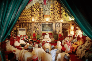 The Emir of Kano State, north-western Nigeria, holds court in the palace (built 15th Century) - 2013: The Emir of Kano State, north-western Nigeria, holds court in the palace (built 15th Century) - 2013