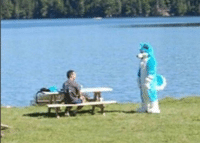 Arthur, King Arthur, and Sword: The enchantress Lady of the Lake approaches King Arthur to bequeath to him the legendary sword Excalibur, (circa 1200 AD)