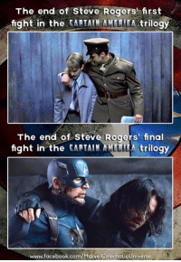 Facebook, Finals, and Roger: The end of Steve Rogers rst  fight in the  CAATATMANLLETA trilogy  The end of Steve Rogers' final  fight in the CARTAIN ALLLL A trilogy  www.facebook.com/MarvelcinematicUniverse ~Deadpool