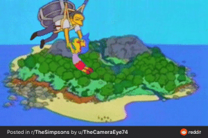 The ending of the episode where Simpsons does Lord of the Flies and the ending where the narrator says 'eventually they were rescued by oh.... let's say, Moe' is better planned out and written than the ending of Thrones: The ending of the episode where Simpsons does Lord of the Flies and the ending where the narrator says 'eventually they were rescued by oh.... let's say, Moe' is better planned out and written than the ending of Thrones
