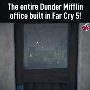 The Office built in Far Cry 5 https://t.co/2mCCgwkrLI: The entire Dunder Mifflin  office built in Far Cry 5! The Office built in Far Cry 5 https://t.co/2mCCgwkrLI