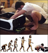 The evolution of man! @gamingplus2 . . . gaming gamer games videogames cod gta csgo minecraft starwars marvel xbox playstation nintendo nerd geek leagueoflegends pc youtube lol fun funny letskillping dota2 game dccomics battlefield steam halo blizzard: The evolution of man! @gamingplus2 . . . gaming gamer games videogames cod gta csgo minecraft starwars marvel xbox playstation nintendo nerd geek leagueoflegends pc youtube lol fun funny letskillping dota2 game dccomics battlefield steam halo blizzard