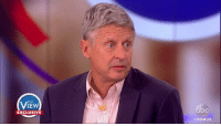 """When asked if he was a man of faith, Gary Johnson said, """"Yes, but I don't wear that on my sleeve. I believe in separation of church and state."""": THE  EXCLUSIVE  VIEW 20 When asked if he was a man of faith, Gary Johnson said, """"Yes, but I don't wear that on my sleeve. I believe in separation of church and state."""""""