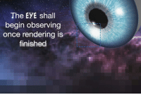 "<p>[<a href=""https://www.reddit.com/r/surrealmemes/comments/889ja1/progress/"">Src</a>]</p>: The EYE shall  bin observina  once rendering iS  eg  iniehe <p>[<a href=""https://www.reddit.com/r/surrealmemes/comments/889ja1/progress/"">Src</a>]</p>"