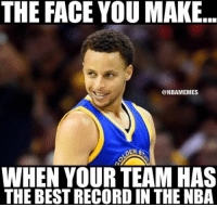 Are they living up to the hype? WarriorsNation goldenstatewarriors stephcurry stephencurry: THE FACE YOU MAKE  @NBAMEMES  DENS  WHEN YOUR TEAM HAS  THE BESTRECORDIN THE NBA Are they living up to the hype? WarriorsNation goldenstatewarriors stephcurry stephencurry