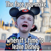 I dont want to go home!!!! Who can relate? #chipandco: The face you-make  whenitSiime To  leave Disney I dont want to go home!!!! Who can relate? #chipandco