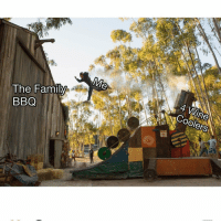 Action Point is now playing go see it ad: The Family  BBQ  4 Wine  COolers Action Point is now playing go see it ad
