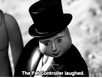 Winston Churchil reacts to the end of the Battle of Britain, 31st October 1940: The Fat Controller laughed. Winston Churchil reacts to the end of the Battle of Britain, 31st October 1940