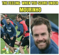 IYKWIM  -ash-: THE FEELING WHEN TOU SCOREUNDER  MOURINHO IYKWIM  -ash-