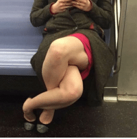 The female version of manspreading: The female version of manspreading